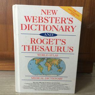 Webster Dictionary and Roget's Thesaurus