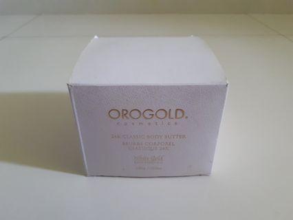 Orogold 24K Classic Body Butter (Cosmetics)