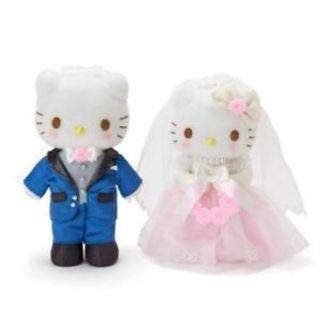Sanrio Japan Hello Kitty & Dear Daniel Wedding doll set (in box)