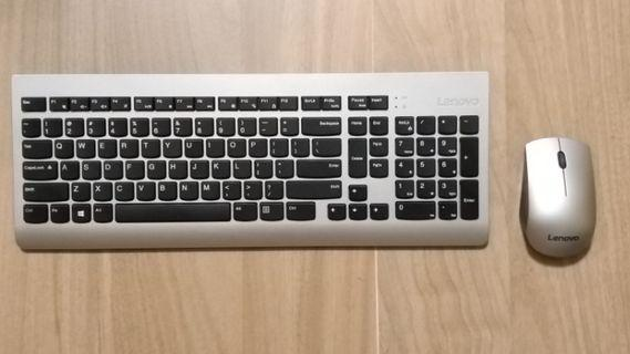 Keyboard Lenovo essential wireless keyboard and mouse combo 無線鍵盤及滑鼠 全新 (非 Samsung  Lg 小米 Logitech Microsoft iPhone )