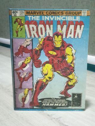 Iron man comics light up