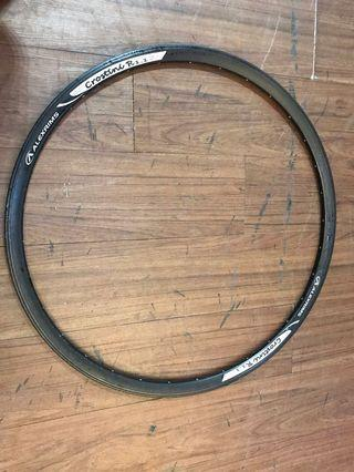 特價全新ALEXRIMS鋁合金700c 32缐開口呔輪圈