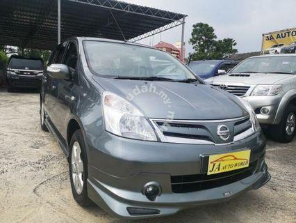 Nissan Grand Livina1.6 Impul(new facelift)