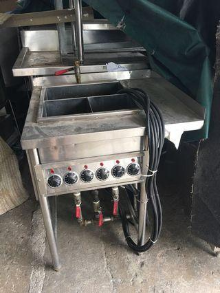 Used electric noodle boiler