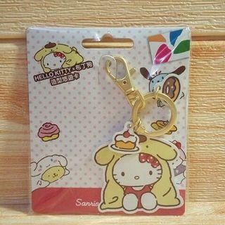 Hello Kitty x Pompompurin Taiwan Easycard Charm