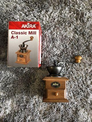Authentic Taiwan Akira Classic Mill A-1 Coffee Grinder