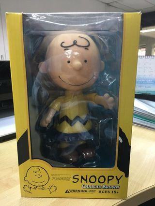 🚚 Medicom Peanuts Snoopy Charlie Brown 20 cm Vinyl Collectible Dolls - Brand New