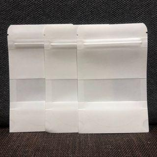 🚚 Small Stand Up Pouch with Window, Food Grade