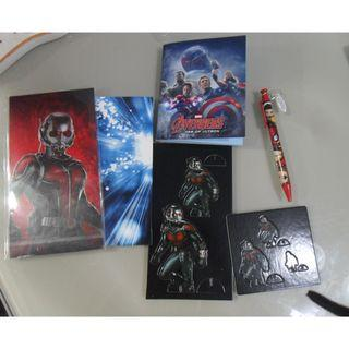 Marvel 文具--筆 紙