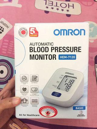 Dijual OMRON BLOOD PRESSURE MONITOR