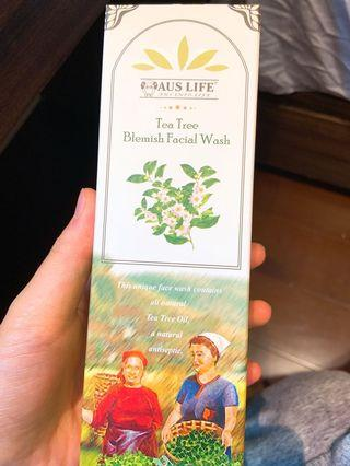 🚚 奧斯萊AUS LIFE茶樹洗臉潔面膠