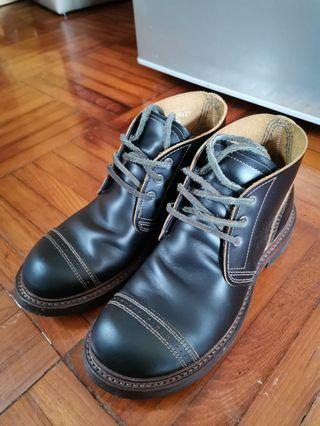 Red Wing Munson B5 x Nigel Cabourn / 茶芯皮/made in USA
