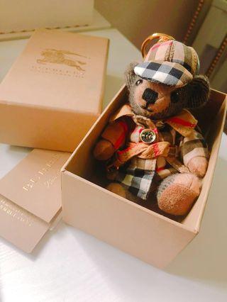 Burberry 熊仔鎖匙扣
