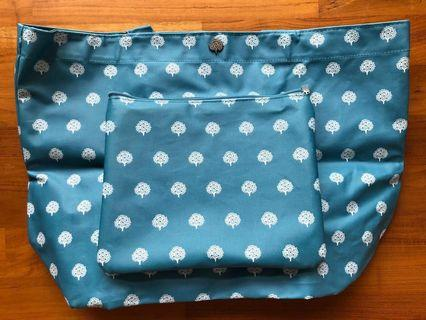 Foldable Tote Bag in Pouch