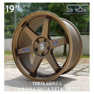 🔥CLEARANCE🔥🌟19 INCH RIM🌟MODEL CODE: TD076 MBRZ-L