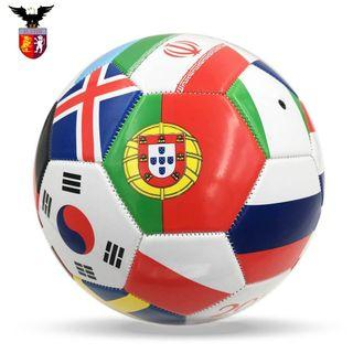 14cm. PU World Cup Soccer/Football for Toddlers