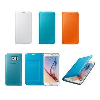 SAMSUNG GALAXY S6 Flip Wallet Cover EF-WG920 原廠翻頁式皮套,適合: G9200, G9208, G920F, G920I等,全新原裝