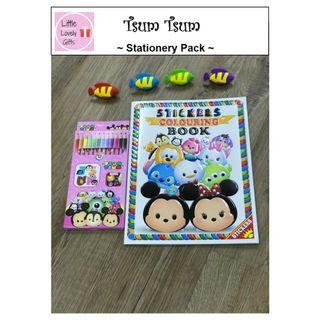 Tsum Tsum Colouring Party Pack