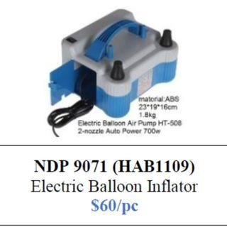 Electric Balloon Inflator Pump