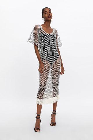 Zara texture knitt tunic for summer