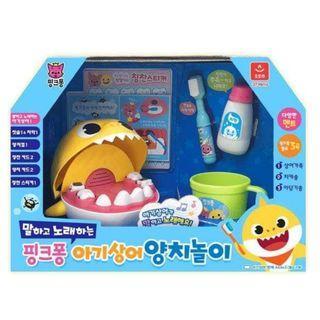 韓國直送Babyshark 學習刷牙玩具