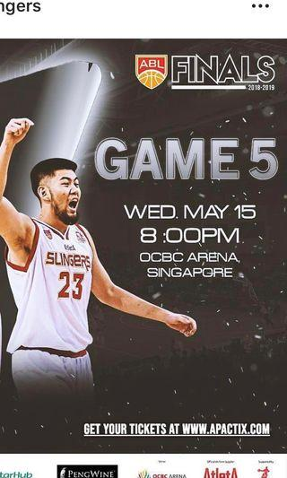 Slingers VS cls Knights Game 5