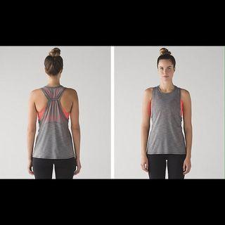 Lululemon Work the Circuit Tank Size 2
