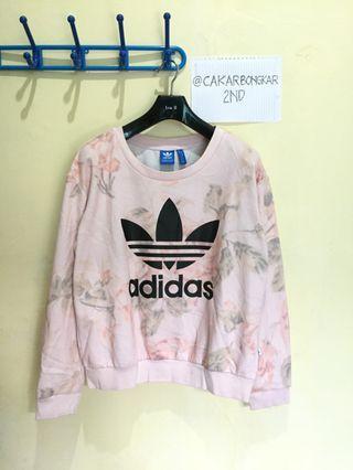 Crewneck Adidas Trefoil Pastel Rose - Pink