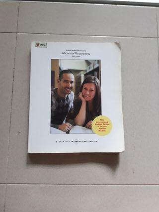 Abnormal Psychology Sixth (6th) Edition - Susan Nolen-Hoeksema