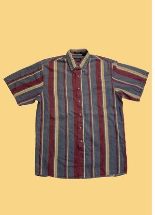🚚 Kenneth godon 直紋短袖襯衫