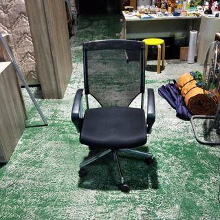 合運二手傢俱~活動式升降辦公網椅C00552