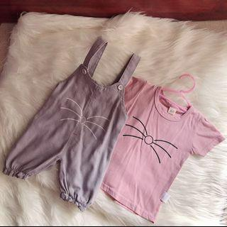 overall anak permpuan import