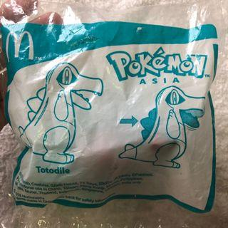 Happy Meal Totodile (Pokemon Asia)