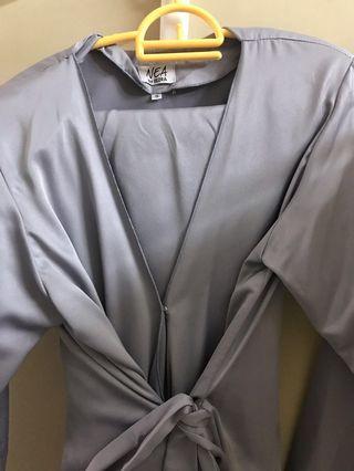 Baju Kebaya Kimono Wrap