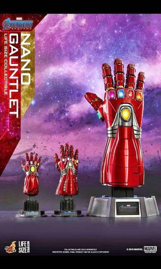 首日 Avengers Nano Guantlet (Hulk Version) 1:4 首日單