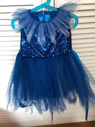 No brand - blue sequin dress