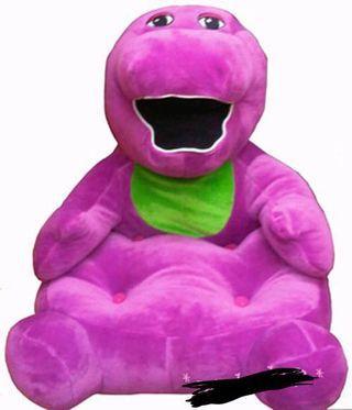 Boneka Barney (sofa)