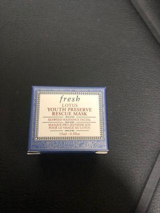 Fresh youth preserve rescue mask 15ml
