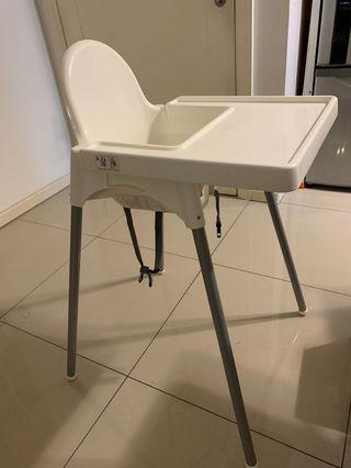 Baby infant toddler ikea high chair