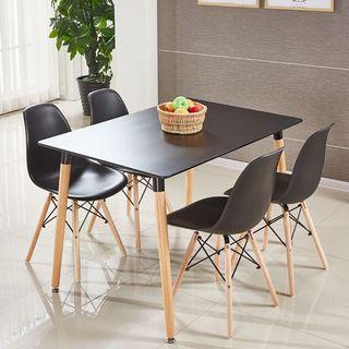 Table/Dining table set 1+4/Coffee table set/Type 4