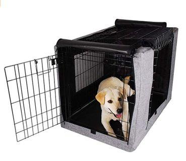 🚚 Petsfit Polyester Crate Cover for Wire Crates