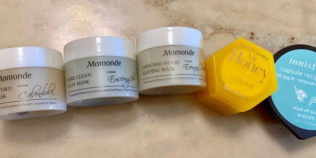 Mamonde / Banila co / Innisfree - masks and cream