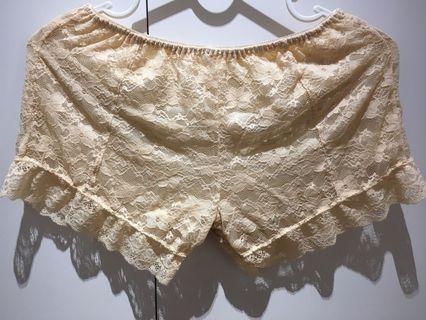 哈妞❤️HaNu《現貨💯實拍》全蕾絲 軟類似 有內裏 有彈性 內搭褲/安全褲「特價/清倉」