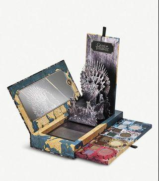 之前斷貨 返到2盒 $420 Urban Decay Game of Thrones eyeshadow palette 權力的遊戲電視劇 限量版 16色眼影盒