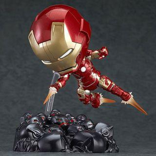 全新 GOOD SMILE NENDOROID 黏土人 543 IRON MAN MARK 43 HERO'S EDITION + ULTRON SENTRIES SET MARVEL AVENGERS 復仇者聯盟 AOU AGE OF ULTRON