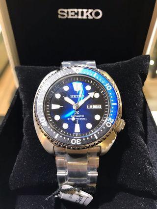 Seiko Prospex SRPC25K1 Turtle Diver.