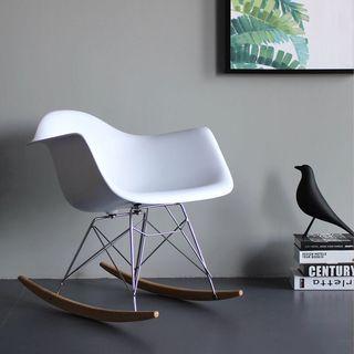 Eames chair/Rocking chair/Black,White