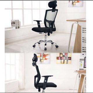 Office chair/Study chair/Ergonomic chair/10 Black