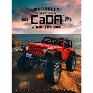 **Launching** CADA C61006 : Wrangler