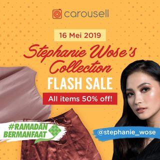 50% Flash Sale Stephanie Wose